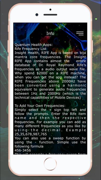 Rife Frequency Tone Amplifier screenshot-4