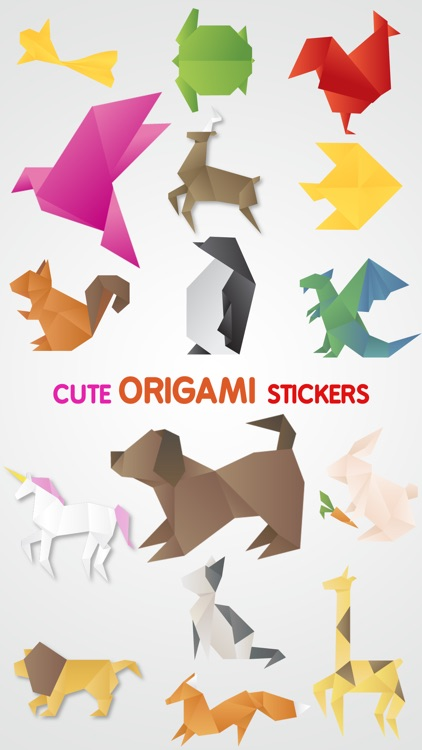 Origami Stickers Pack