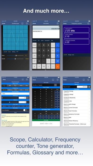 Electronic Toolbox Pro review screenshots