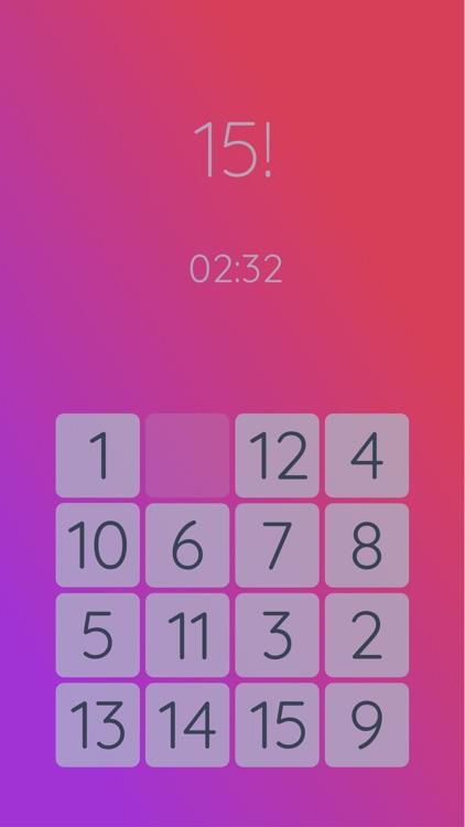 15! puzzle screenshot-3