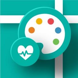 【からだパレット+】あなたの健康記録をサポートするアプリ
