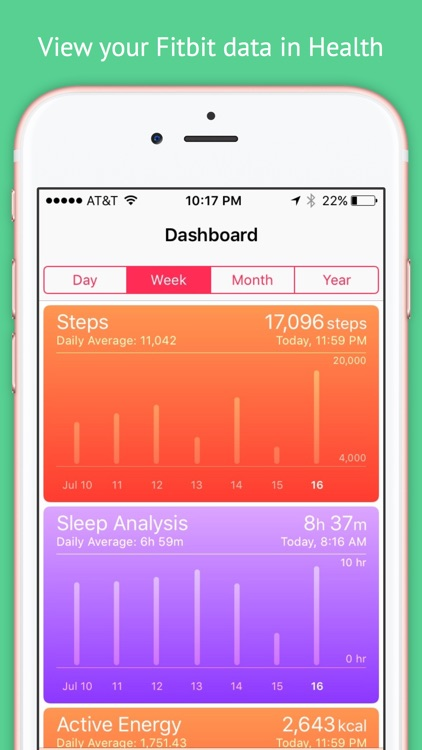 Fitbit to Apple Health Sync screenshot-4