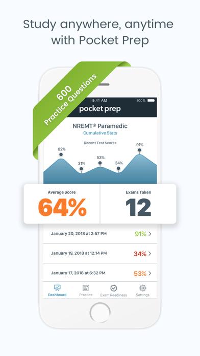 Paramedic Pocket Prep Screenshot