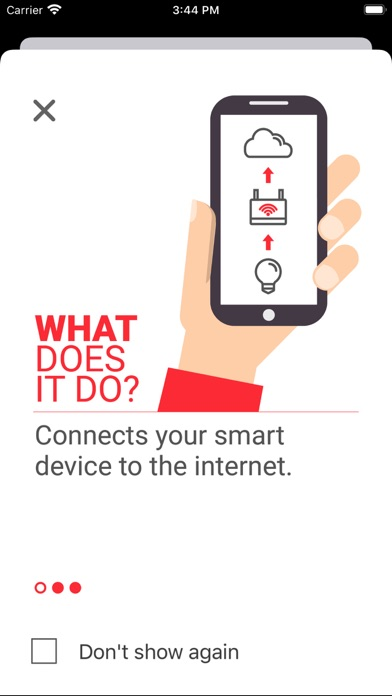 SimpleLink™ Wi-Fi® Starter Pro Screenshot