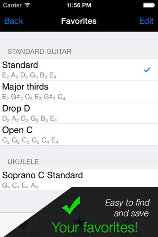 Pro Guitar Tuner - náhled