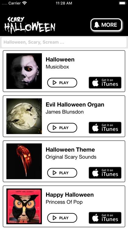 Halloween Ringtones for iPhone