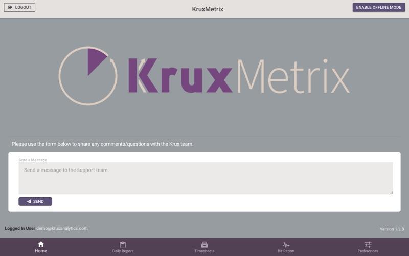 KruxMetrix for Mac