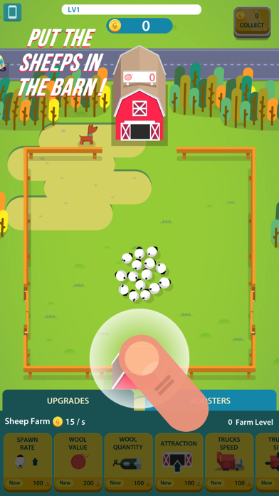 Wool Factory Idle screenshot one