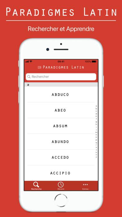 Paradigmes Latin