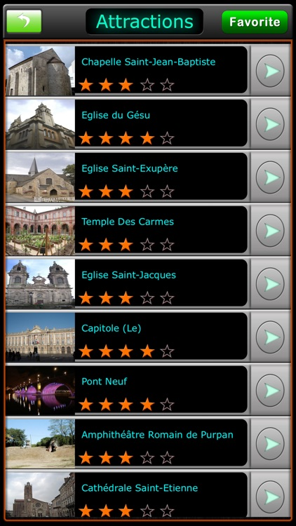 Toulouse Offline Map Guide
