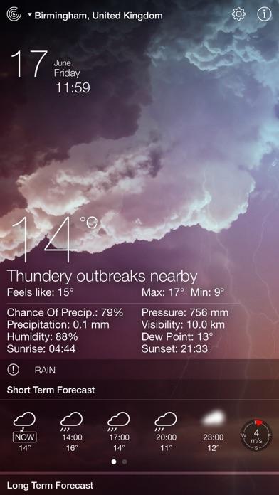Screenshot for Weather Live゜ in Kazakhstan App Store