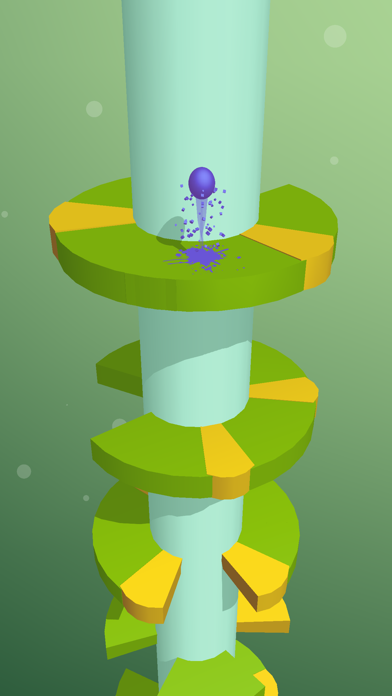 Screenshot for Helix Jump in France App Store