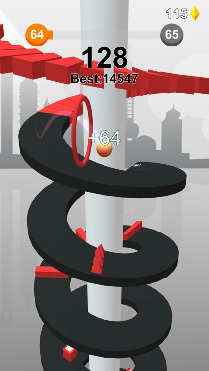 Jump Ball-Bounce On Tower Tile screenshot-6