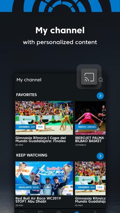 Screenshot for LaLiga Sports tv in United Arab Emirates App Store