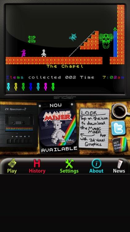 Jet Set Willy: ZX Spectrum screenshot-3