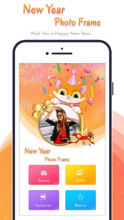 Happy New Year - Photo Frame