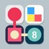 SLIDE: 2-D combination puzzle