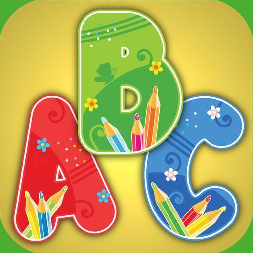 Shadow puzzle English alphabet