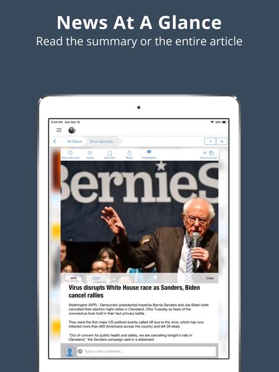 World News App - Breaking International Daily News Headlines screenshot
