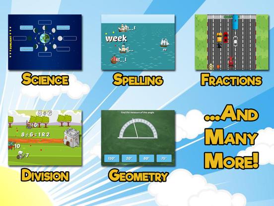 Fourth Grade Learning Gamesのおすすめ画像2