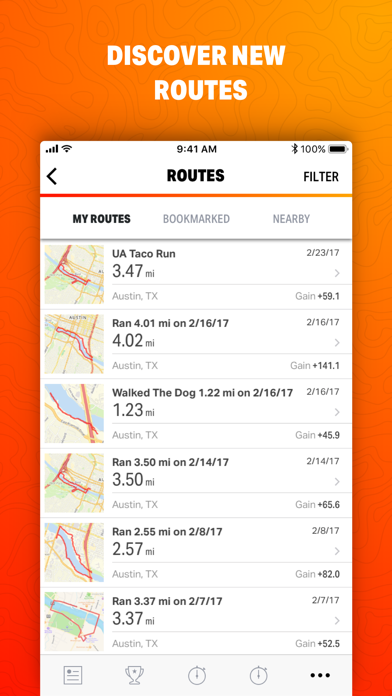Map My Ride by Under Armour-3