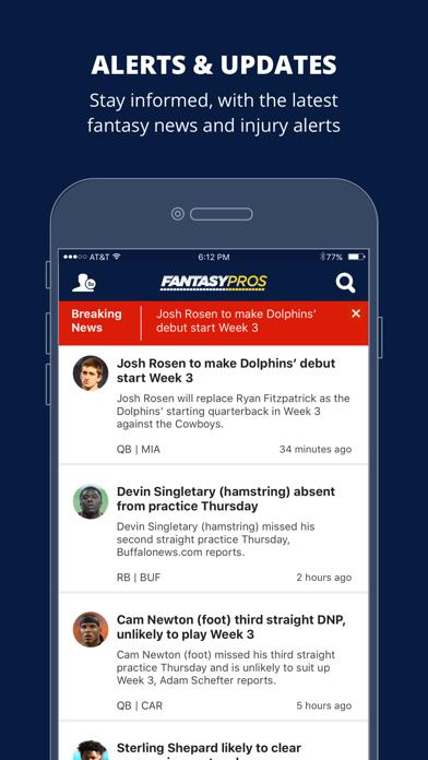 Fantasy News by FantasyPros Screenshot