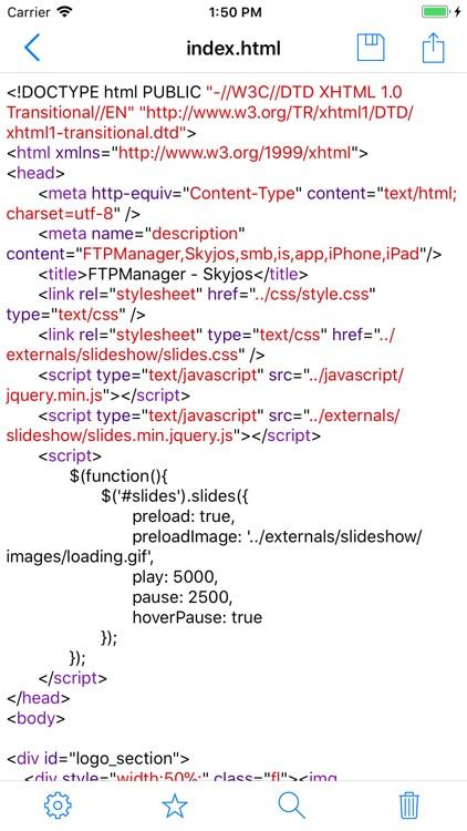 FTPManager - FTP, SFTP client screenshot-7