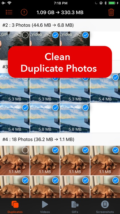 Pic Cleaner - Duplicate Fixer screenshot-0