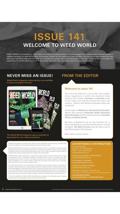 Weed World Magazine screenshot 2