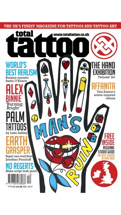 Total Tattoo Magazine Screenshot