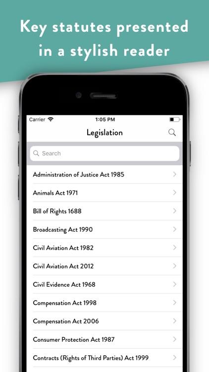 Pocket Law Guide: Tort screenshot-6