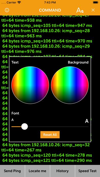 CMD - Speed test & Ping ms Screenshots