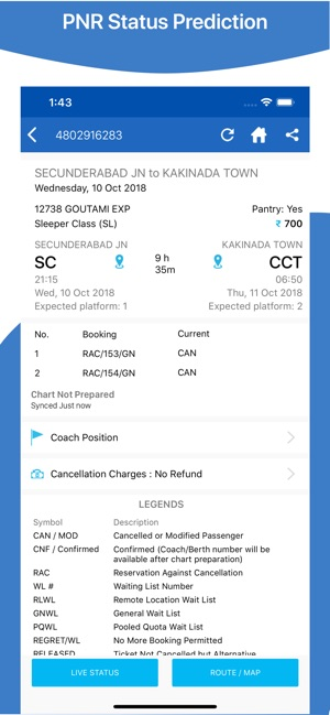 Where is my Train : Live Train on the App Store