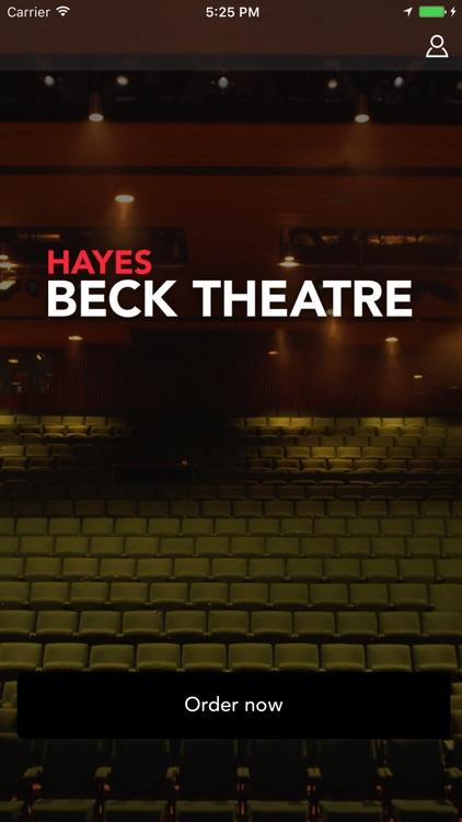 Beck Theatre Bars