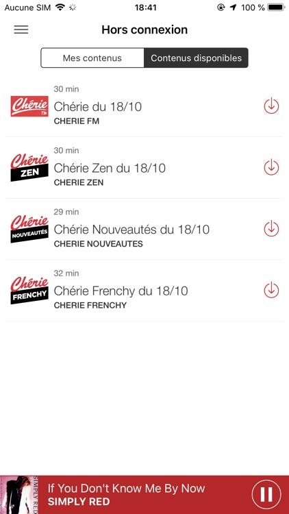 Chérie FM Radio screenshot-7