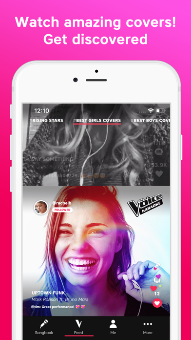 The Voice - Sing Karaoke App Data & Review - Entertainment