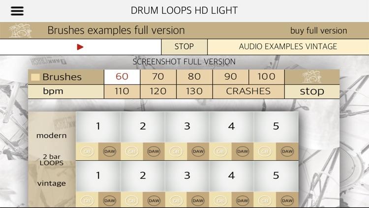 Drum Loops HD Light screenshot-6
