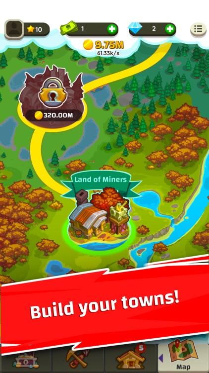 Merge Miners: Idle Tycoon screenshot-3