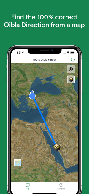 100% Qibla Finder on the App Store on prevailing wind direction, change direction, one direction, earth's rotation direction, azimuth direction,