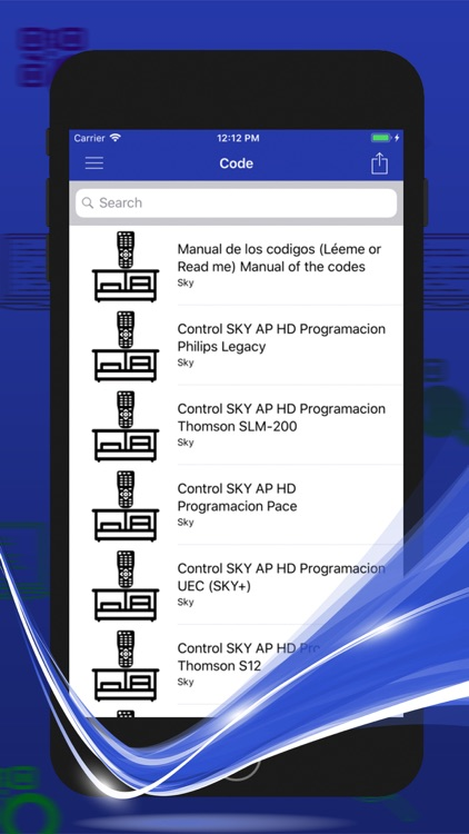 Remote Control Code For Sky