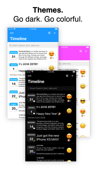 Personal Diary (Journal) App iPhone