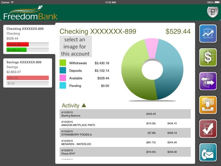 FreedomBank (Iowa) for iPad