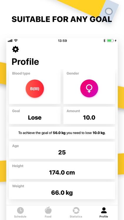 Blood Diet Plan screenshot-4