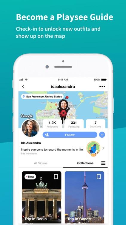 Playsee: Social Travel Network screenshot-4
