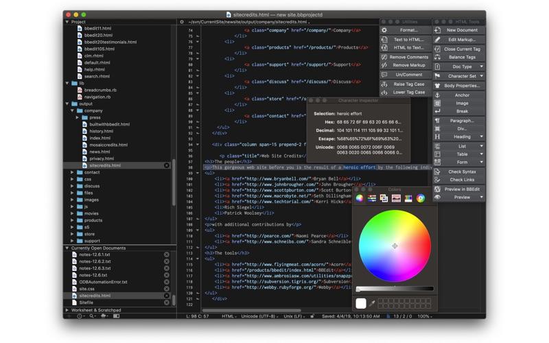 文本编辑工具 BBEdit for Mac