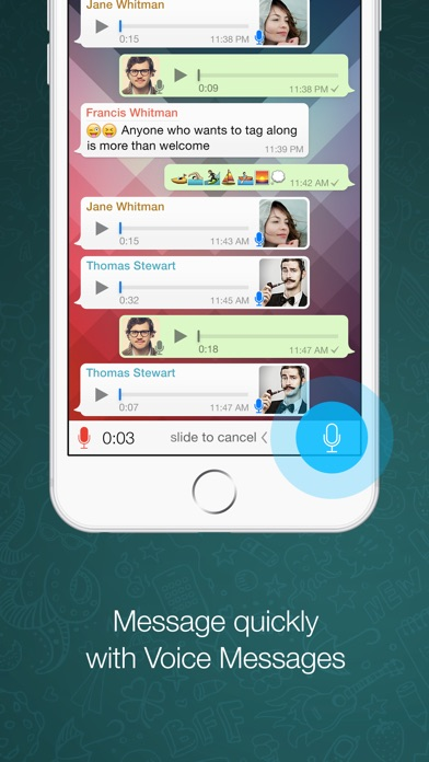 Screenshot for WhatsApp Messenger in United Arab Emirates App Store