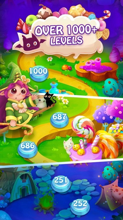 Candy Fever - Match 3 Games