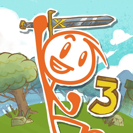 Top 4 reasons to download Draw a Stickman: EPIC 3, Hitcents' creative puzzler