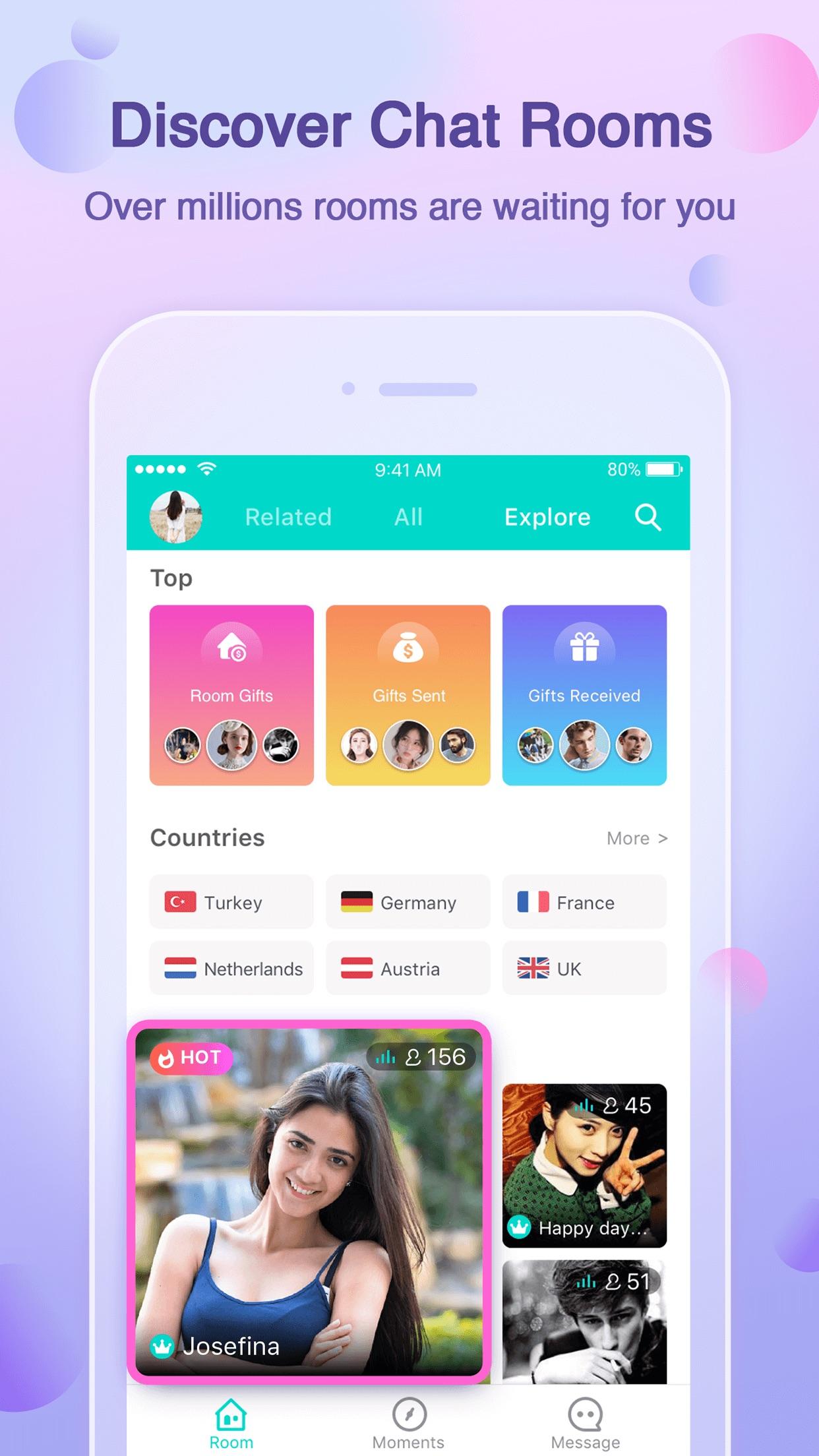 Yalla - Group Voice Chat Rooms Screenshot
