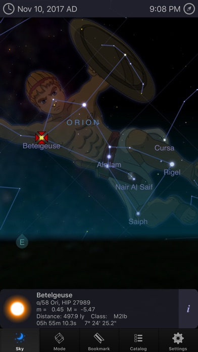 Screenshot #7 for StarMap 3D+ Plus